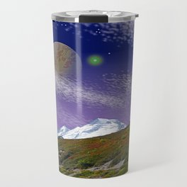ON THE TRAIL TO DISTANT WORLDS Travel Mug