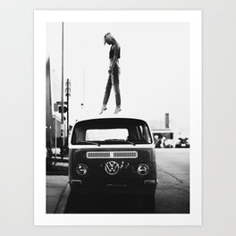 Woman, Girl, Fashion, Photo, Styled print Art Print
