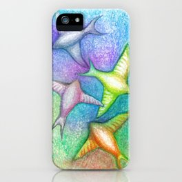 Skydivers iPhone Case