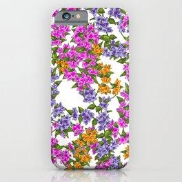 Beautiful Bougainvillea iPhone Case