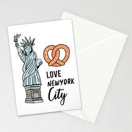Love New York City Stationery Cards