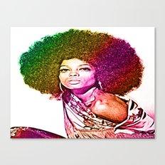 Miss Ross  Canvas Print