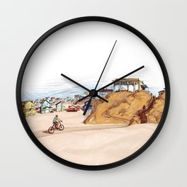 View of Outlandish - Archie of Outlandish Wall Clock