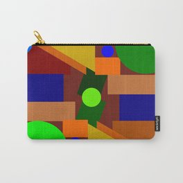 Bauhaus geometry Carry-All Pouch