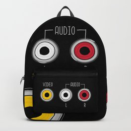 Plug in your mood! (Music + Video) Backpack