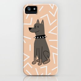 The Doberman iPhone Case