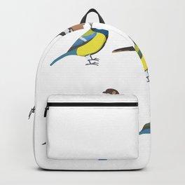 Funny Birds Tit Bird Watching Humor Backpack