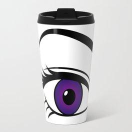 Violet Right Eye Travel Mug