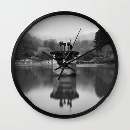 Blaen Bran, Cwmbran, South Wales, UK - 05 Wall Clock