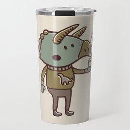 Prehistoric Love Travel Mug