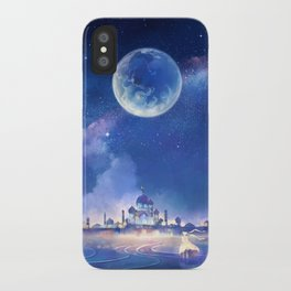 silver millennium iPhone Case