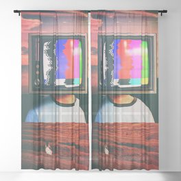 Different Signal Sheer Curtain