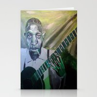 allyson johnson Stationery Cards featuring Robert Johnson  by Robert E. Richards