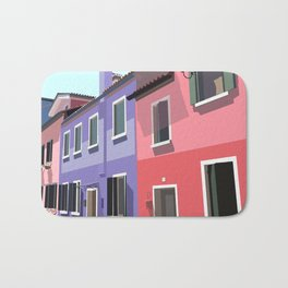 Burano houses Bath Mat