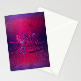 Keep It Together (Zombie Motivational) Stationery Cards