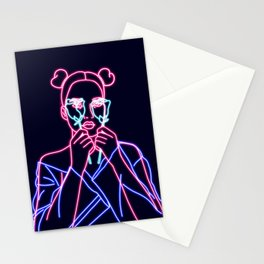'60s vibes Stationery Cards
