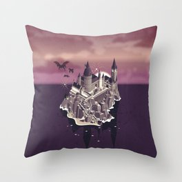 Hogwarts series (year 5: the Order of the Phoenix) Throw Pillow