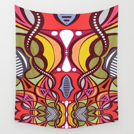 C13D Pattern Construct Wall Tapestry