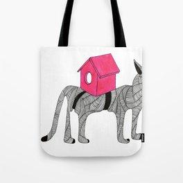 Cat-Snail Tote Bag