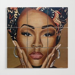 Brown Skin Wood Wall Art