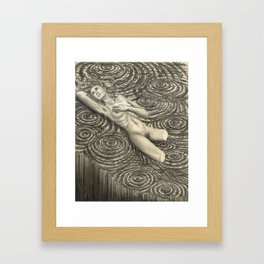 The betrayal of hope, Tereza Framed Art Print
