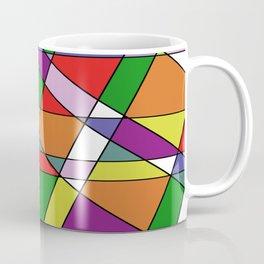 Stain Glass Mosaic Pattern Coffee Mug