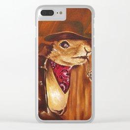 Reginald the 3rd Clear iPhone Case