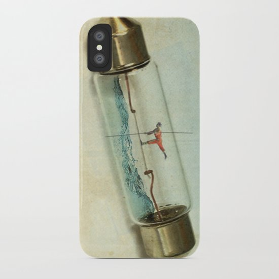 Fuse wire walker iPhone Case