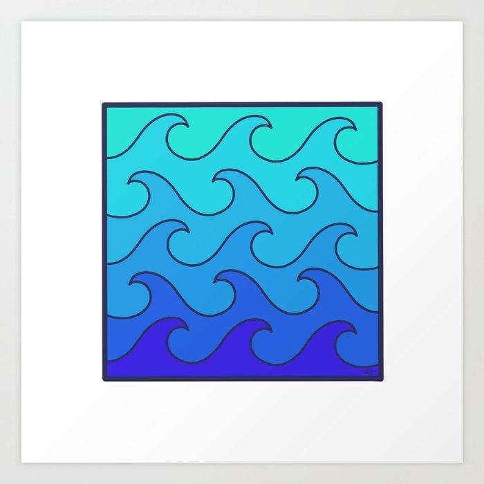 Ocean In A Box Art Print