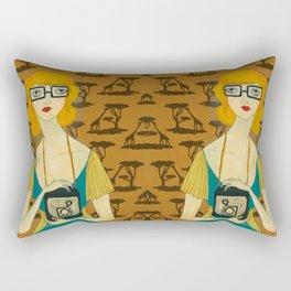 Adapting to You Rectangular Pillow