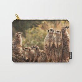 Meerkat Family Photography Carry-All Pouch