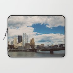 Hearts Over Pittsburgh Laptop Sleeve