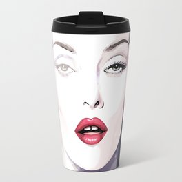 Vogue Fashion Illustration #6 Travel Mug