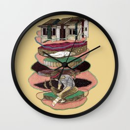 house old Wall Clock