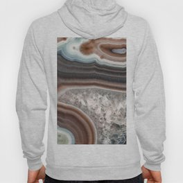 Dragon mouth agate geode Hoody