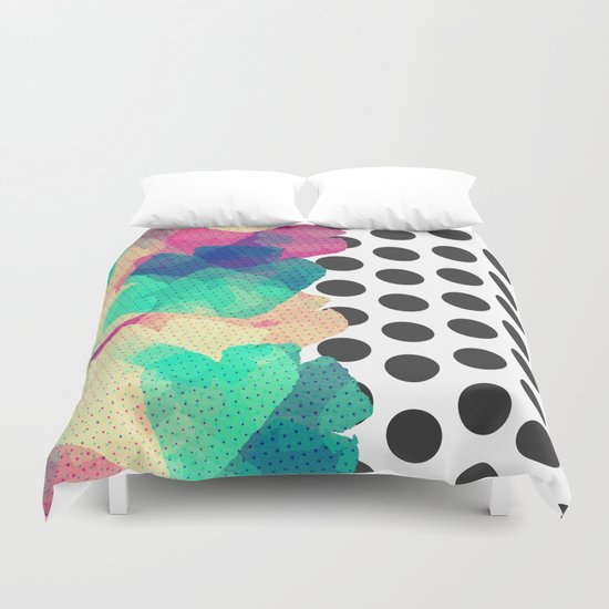 The Fall Patterns #2  Duvet Cover