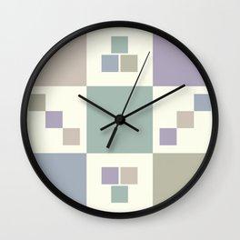 Vintage Pastels Wall Clock