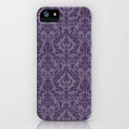 Posh Purple iPhone Case