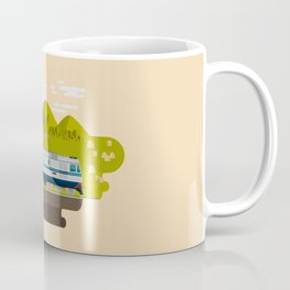 Railway Locomotive #63 Coffee Mug