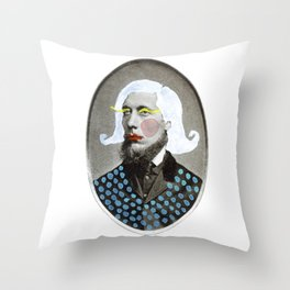 #11 of PREACHERS & THEIR ALTER EGOS Throw Pillow