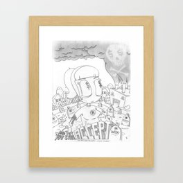 "You Can't Spell ""God Bless"" Without ""Godless"" Framed Art Print"