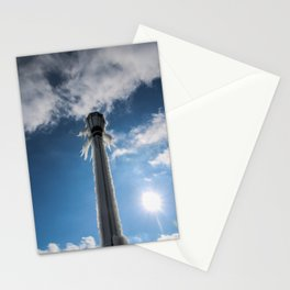 sun melts the ice Stationery Cards