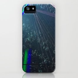 crowd is loud iPhone Case
