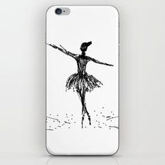 Bailarina iPhone & iPod Skin