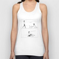 kittens Tank Tops featuring kittens by aboutchopsuey