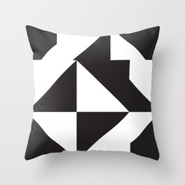 losanges noirs 7 Throw Pillow