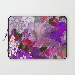 Purple Globes of Rhododendron  Laptop Sleeve