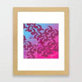 Comma Coma Framed Art Print
