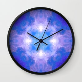 The Colors of Clouds Wall Clock
