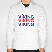 viking Hoodies featuring VIKING by eyesblau